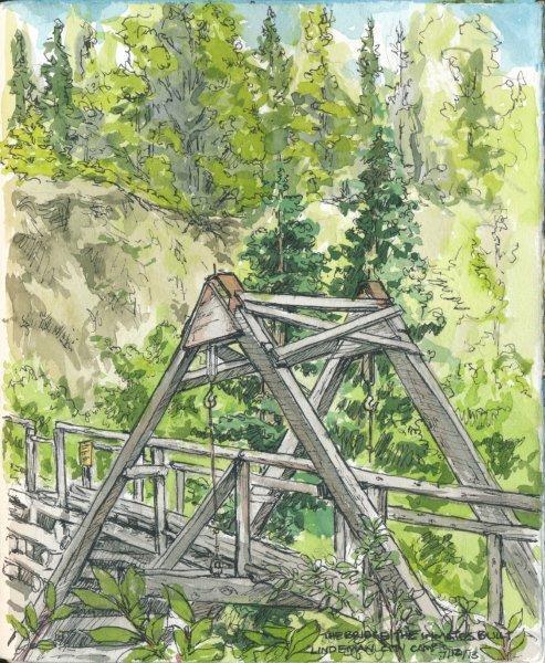 The Bridge the Inmates Built, Lindeman City Camp