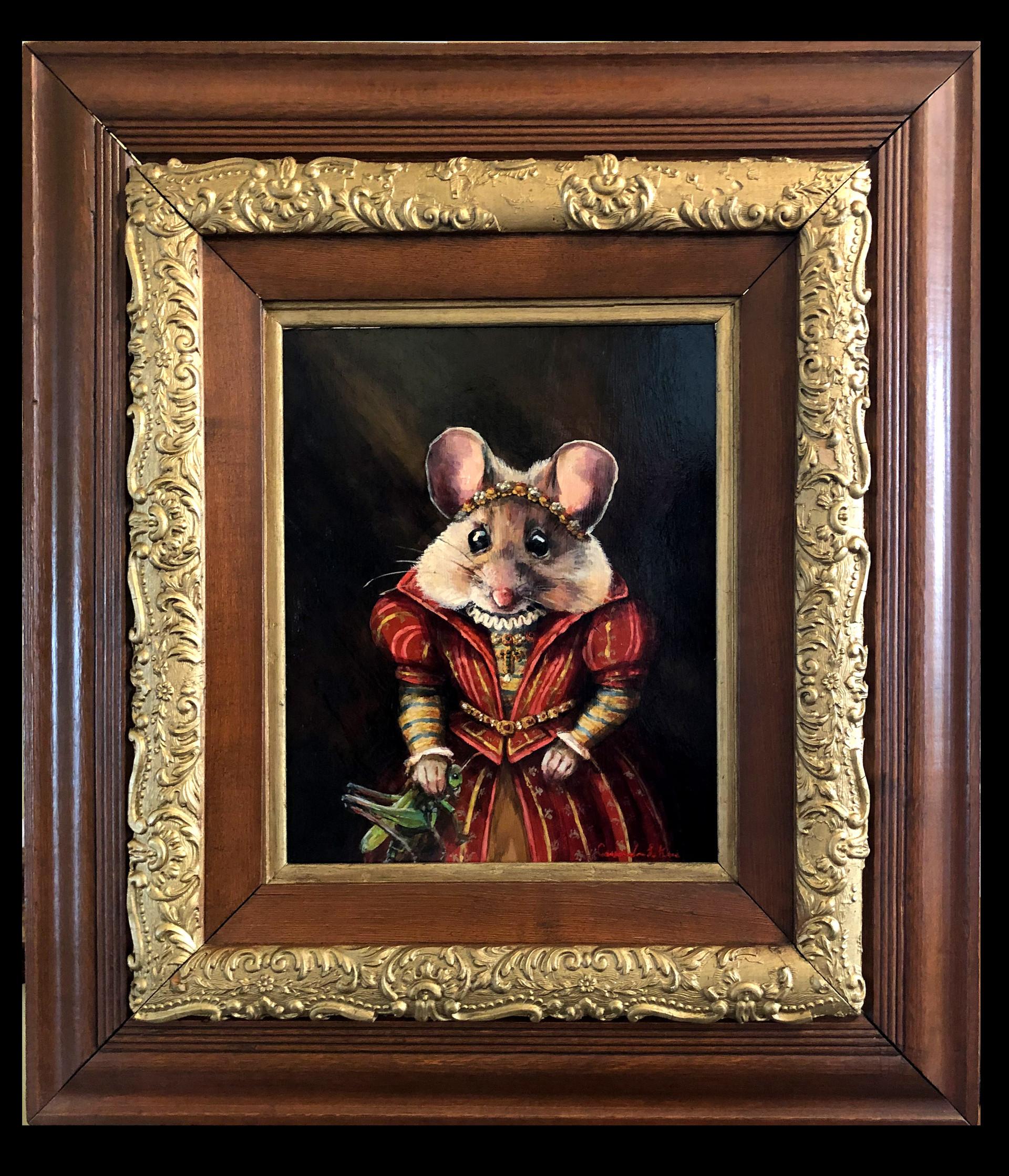"""""""Portrait of Lady Mouse"""""""