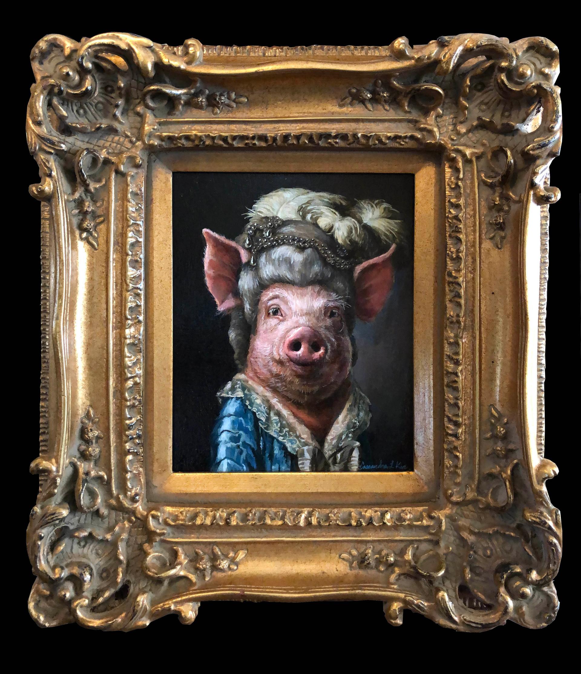 """Her Royal Swineness"""