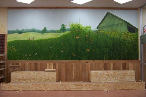 Flower Mural for Centreville, VA Trader Joe's