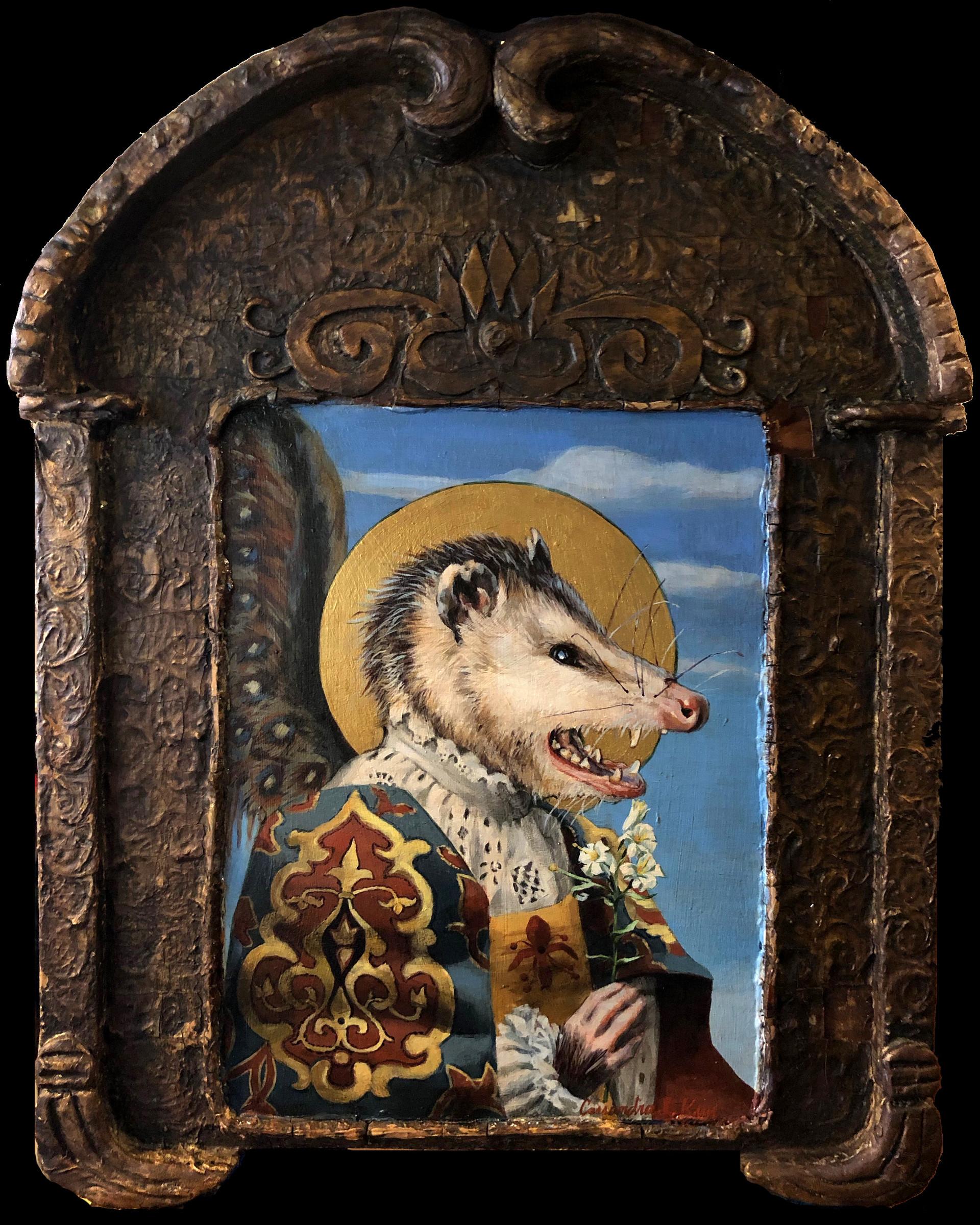 """""""Saint Opossum: Virginia's Unsung Hero"""""""