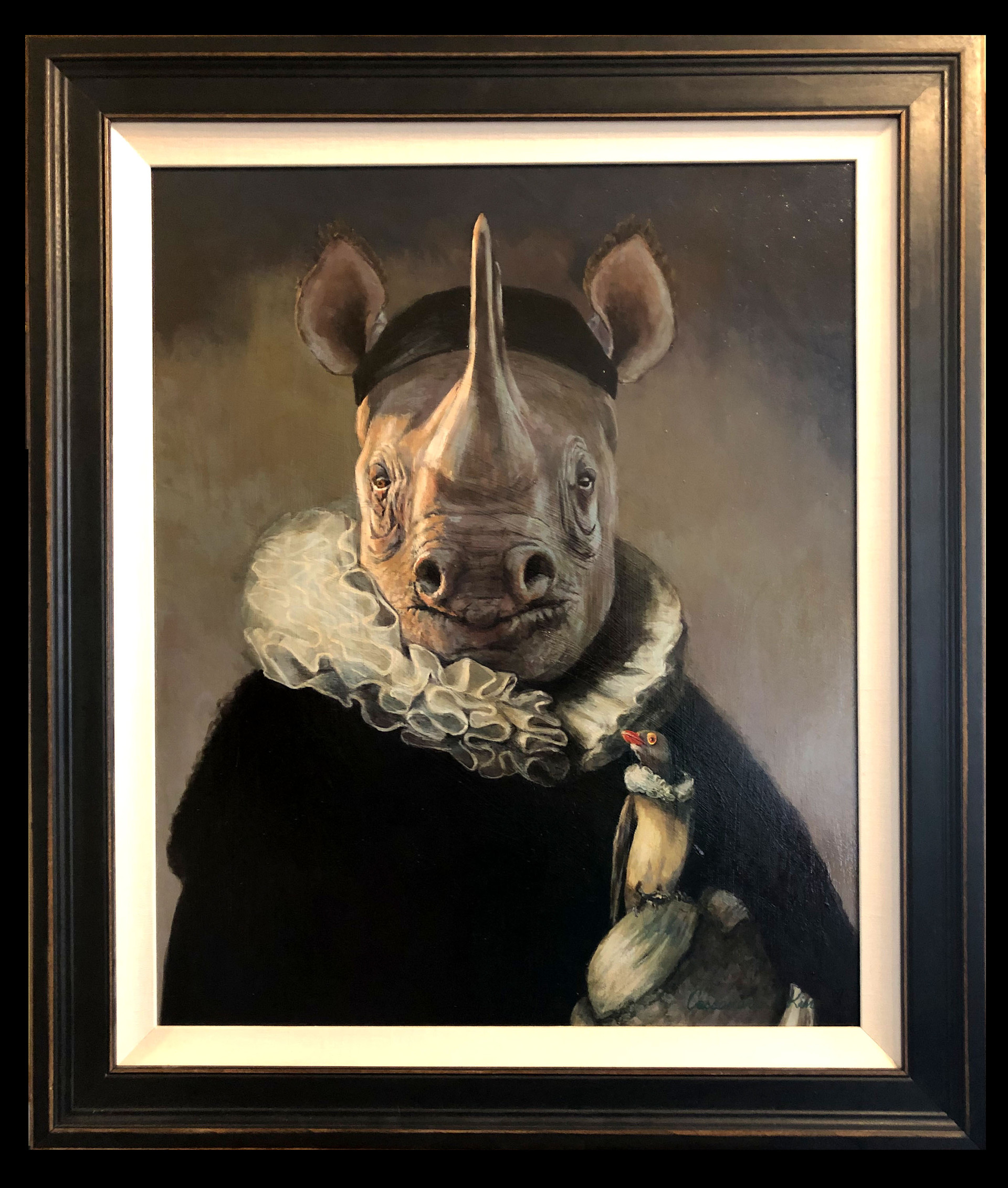 """Portrait of Johannes Rhinoceros"""