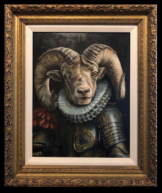 """Sir Bighorn Ram in Armour"""
