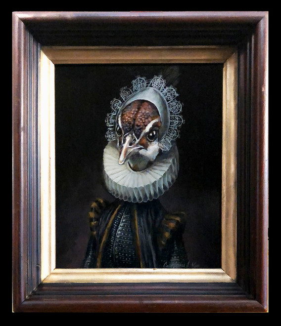 """""""Portrait of Gillina van Peahen"""""""
