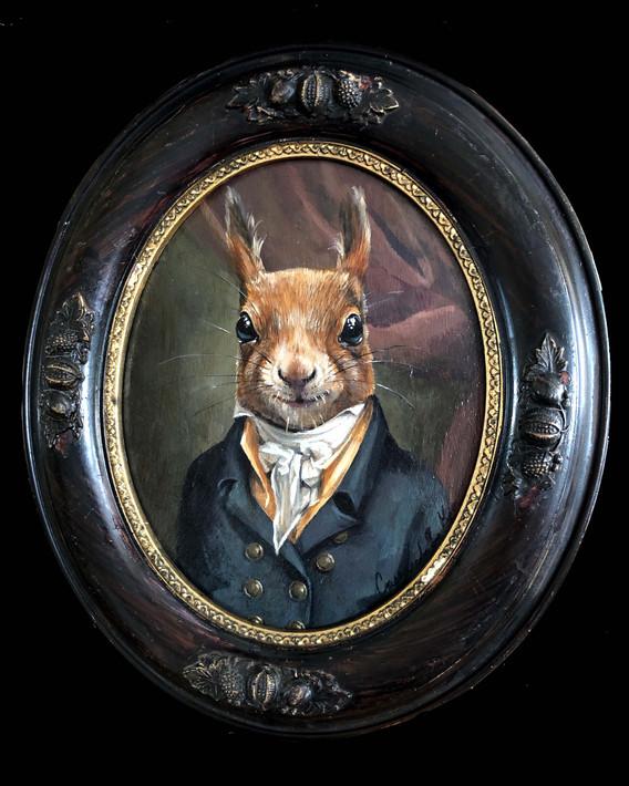 """Edward Shippen Squirrel"""