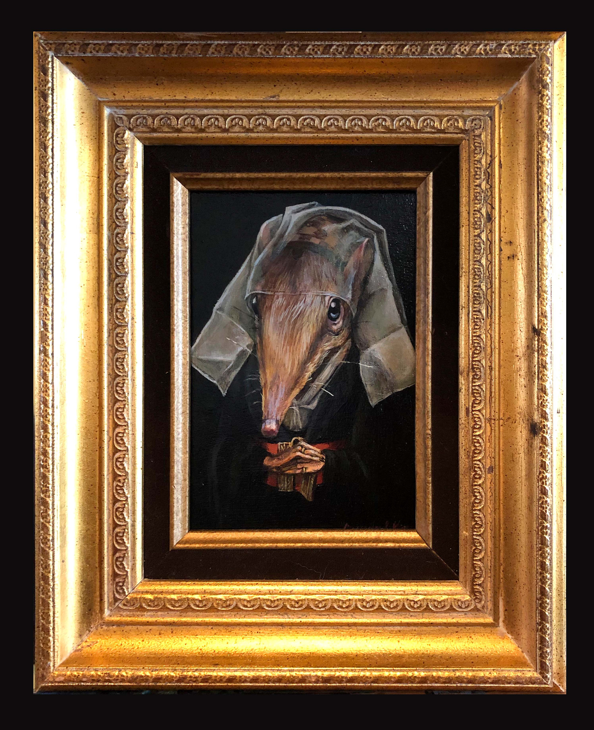 """Portrait of a Shrew"""