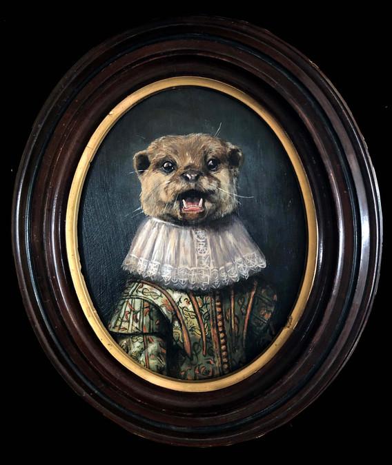 """Portrait of a Noble Otter"""