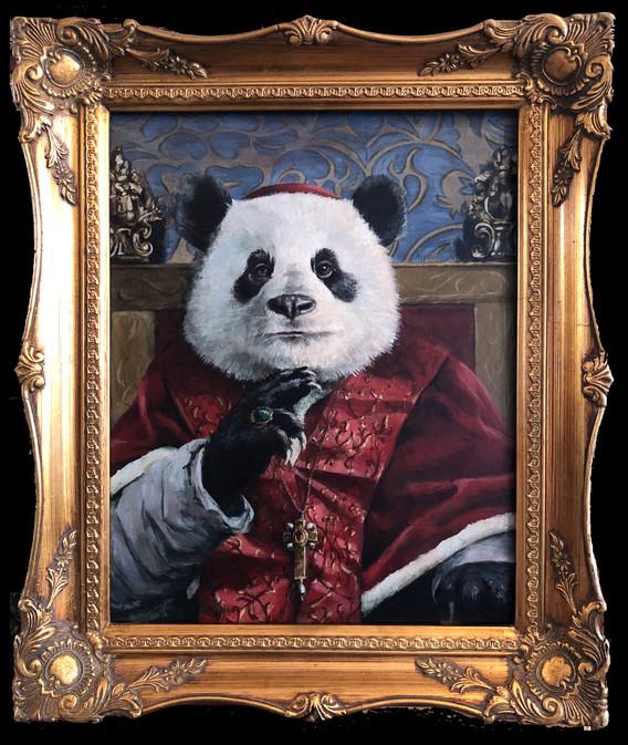 """Pope Panda"""