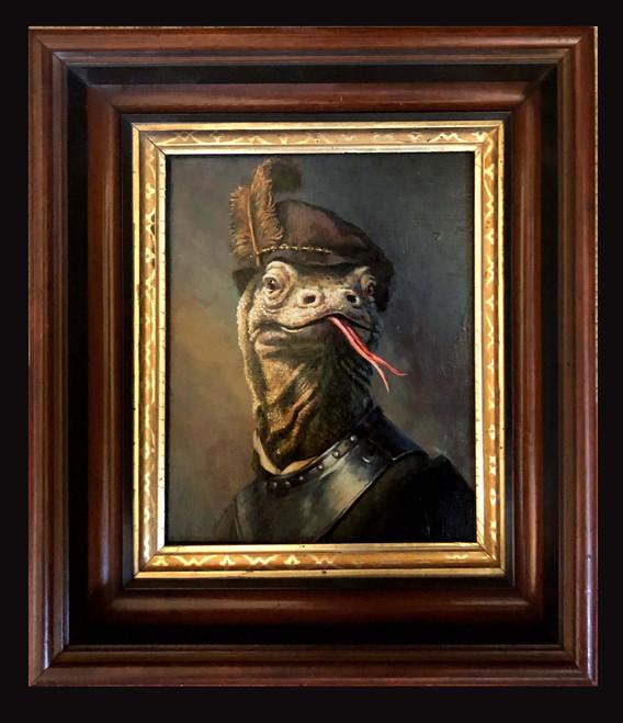 """Rembrandt's Dragon"""