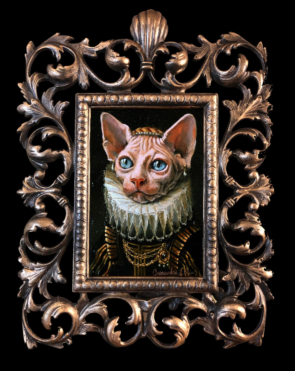 """Cat in a Fancy Collar"""