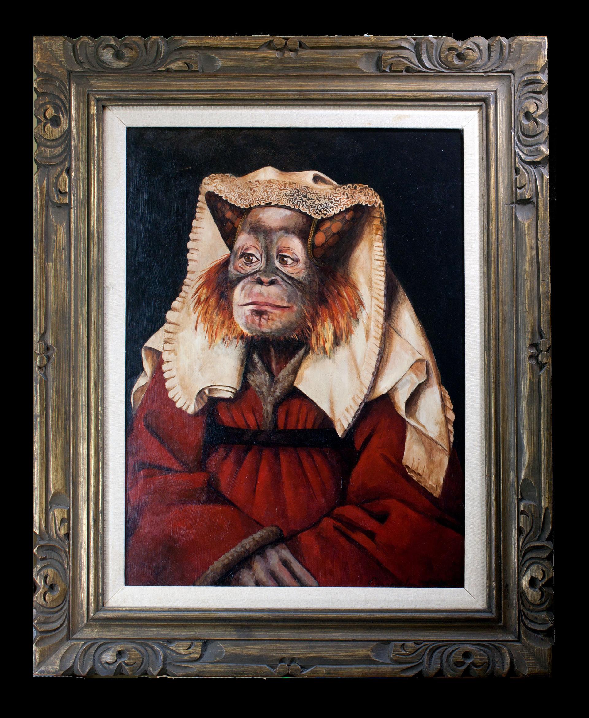 """Portrait of Margaret van Oranguatan"""
