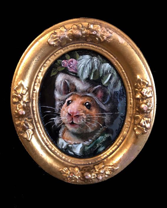 """""""Mademoiselle Hamster"""""""