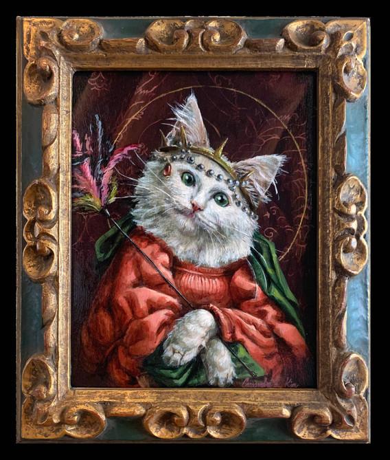 """""""Saint Kitty of Featherduster"""""""
