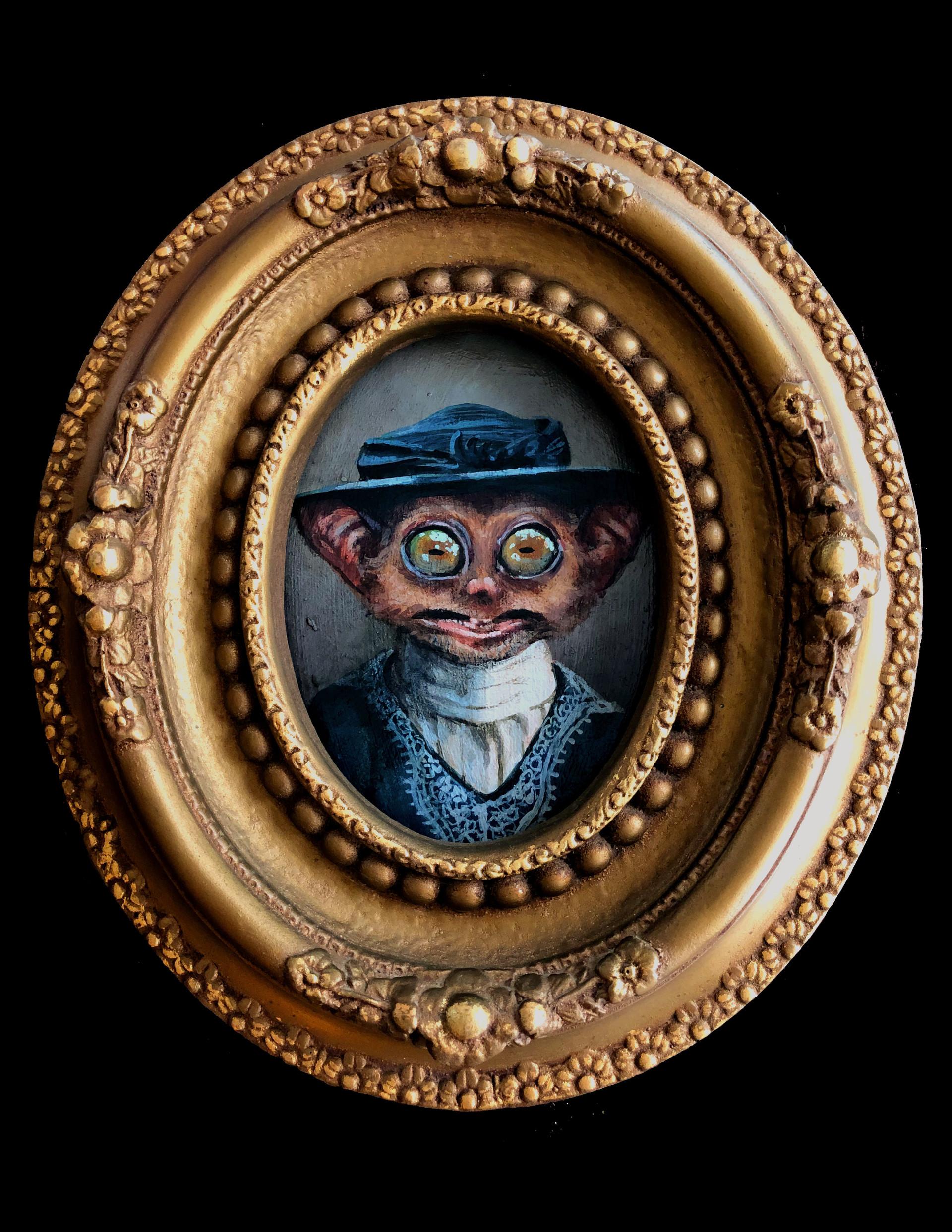 """""""Lady Tarsier in a Hat"""""""