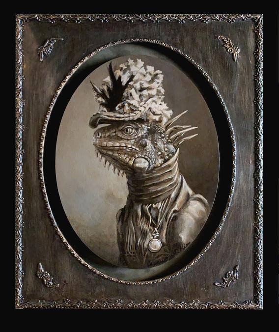 """""""The Edwardian Iguana"""""""