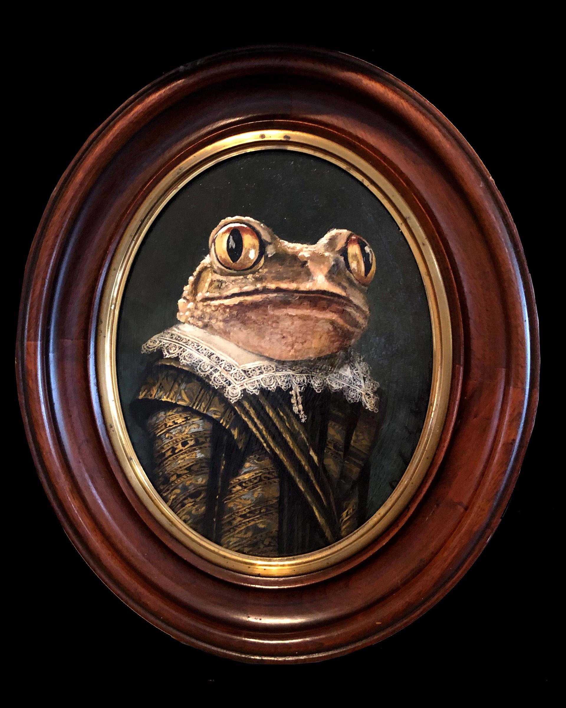 """Portrait of a Gentle Tree Frog"""