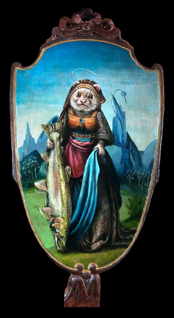 """""""Saint Ferret of Trout"""""""