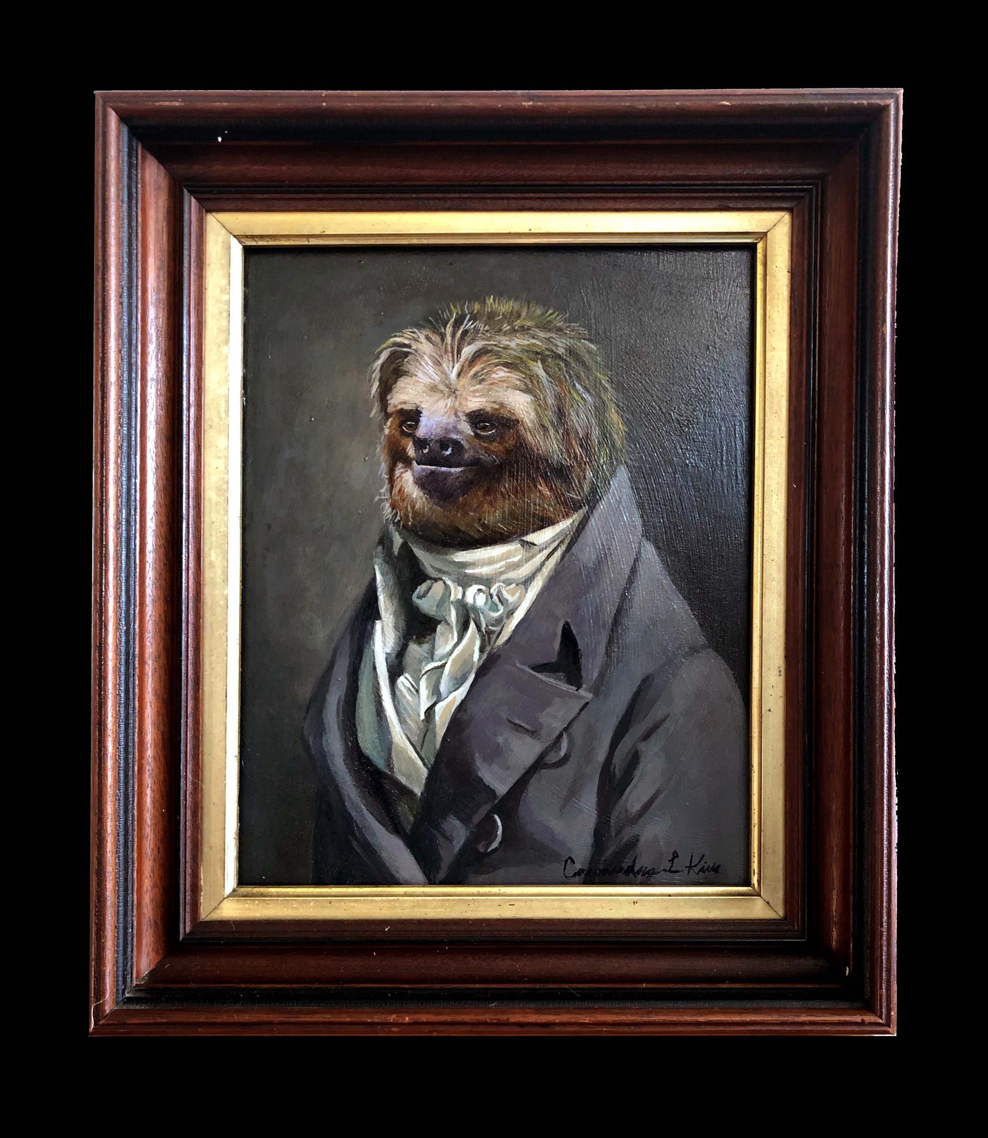 """Portrait of a Sloth"""
