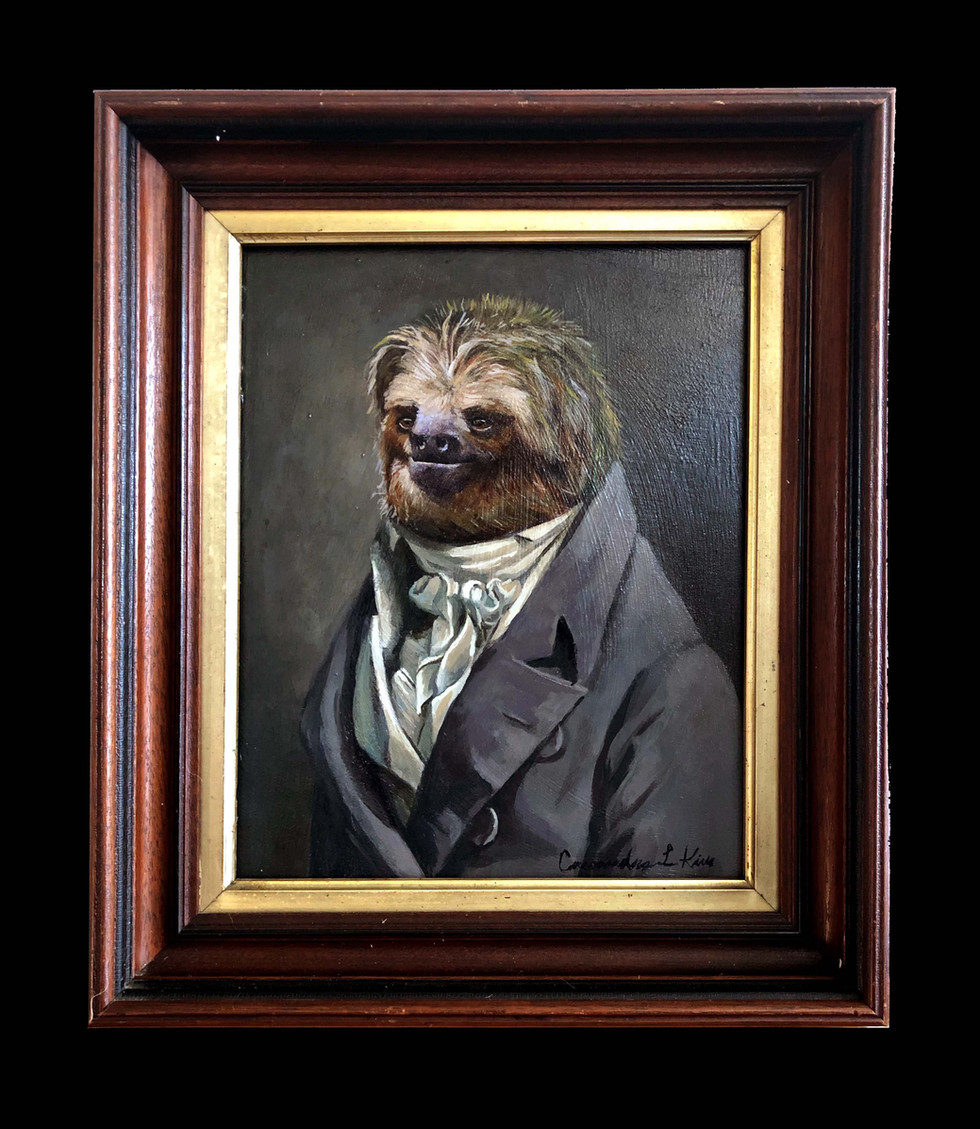 """Portrait of a Sloth"""