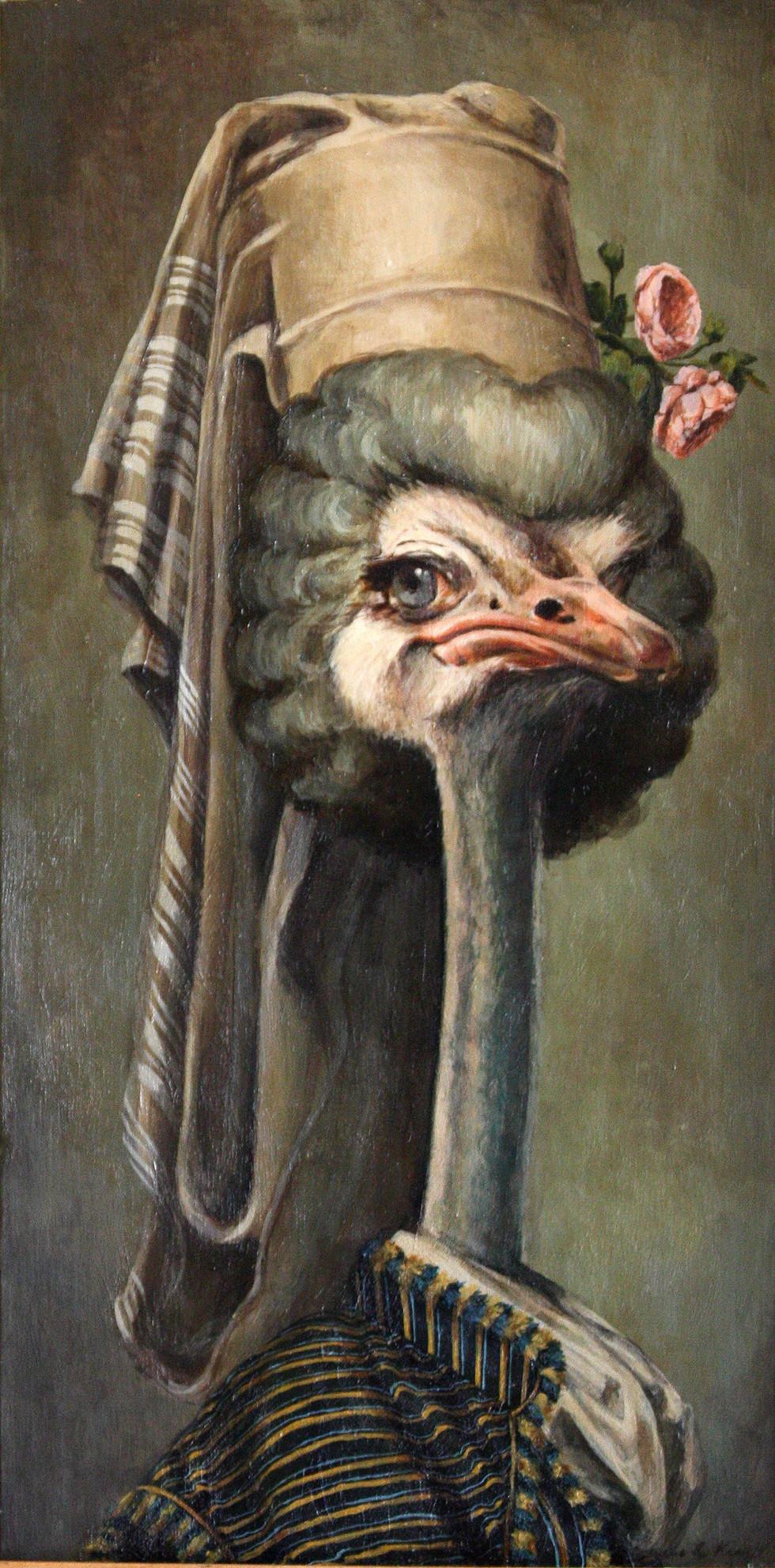 """""""Marie Ostrich"""""""