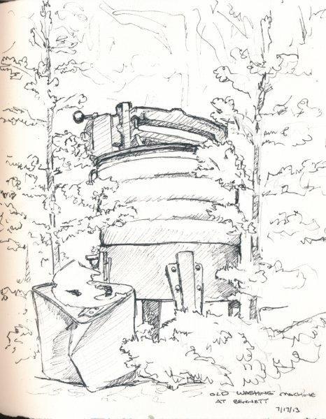 Old Washing Machine at Bennett Camp