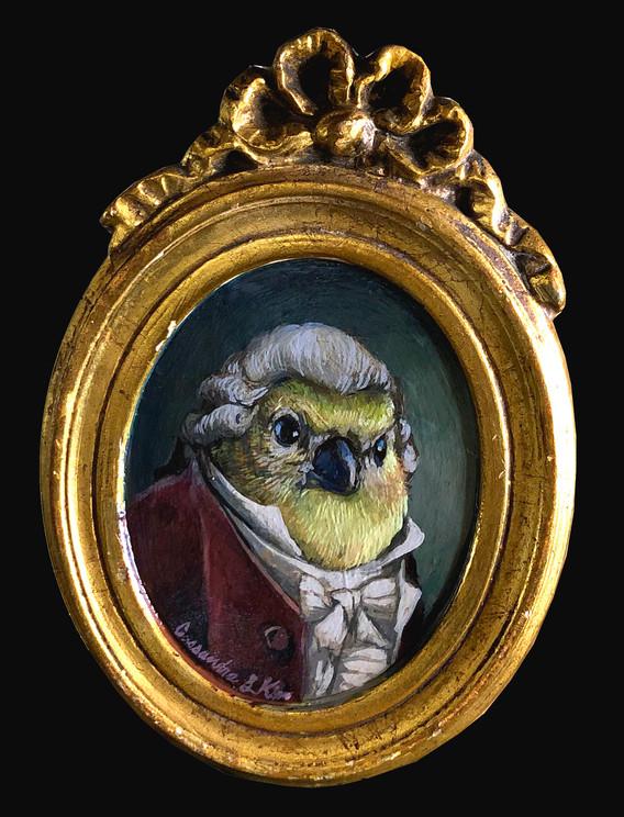 """Sir Goldfinch"""