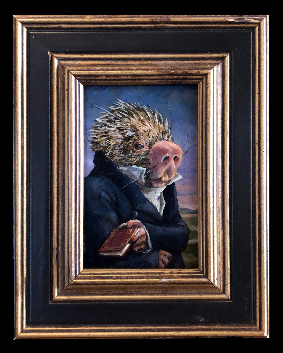 """The Scholarly Porcupine"""