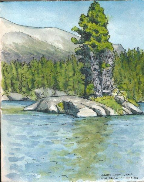 Bare Loon Lake Camp Ground