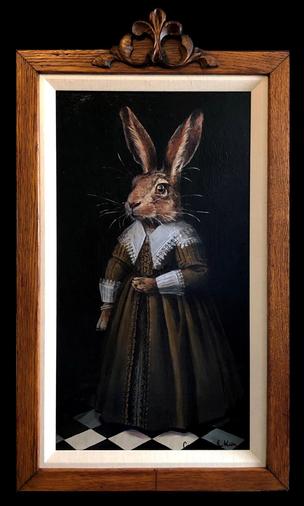 """""""Portrait of a Dutch Rabbit"""""""