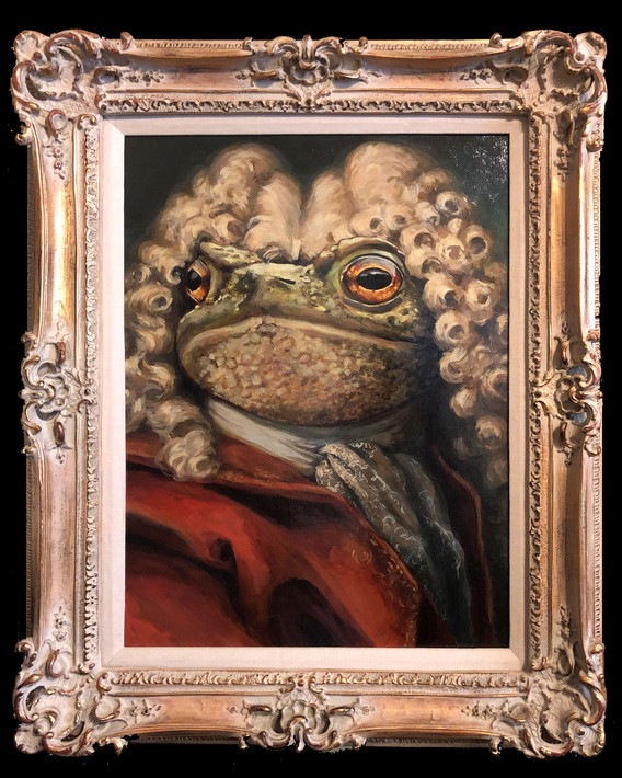 """""""The Noble Toad"""""""