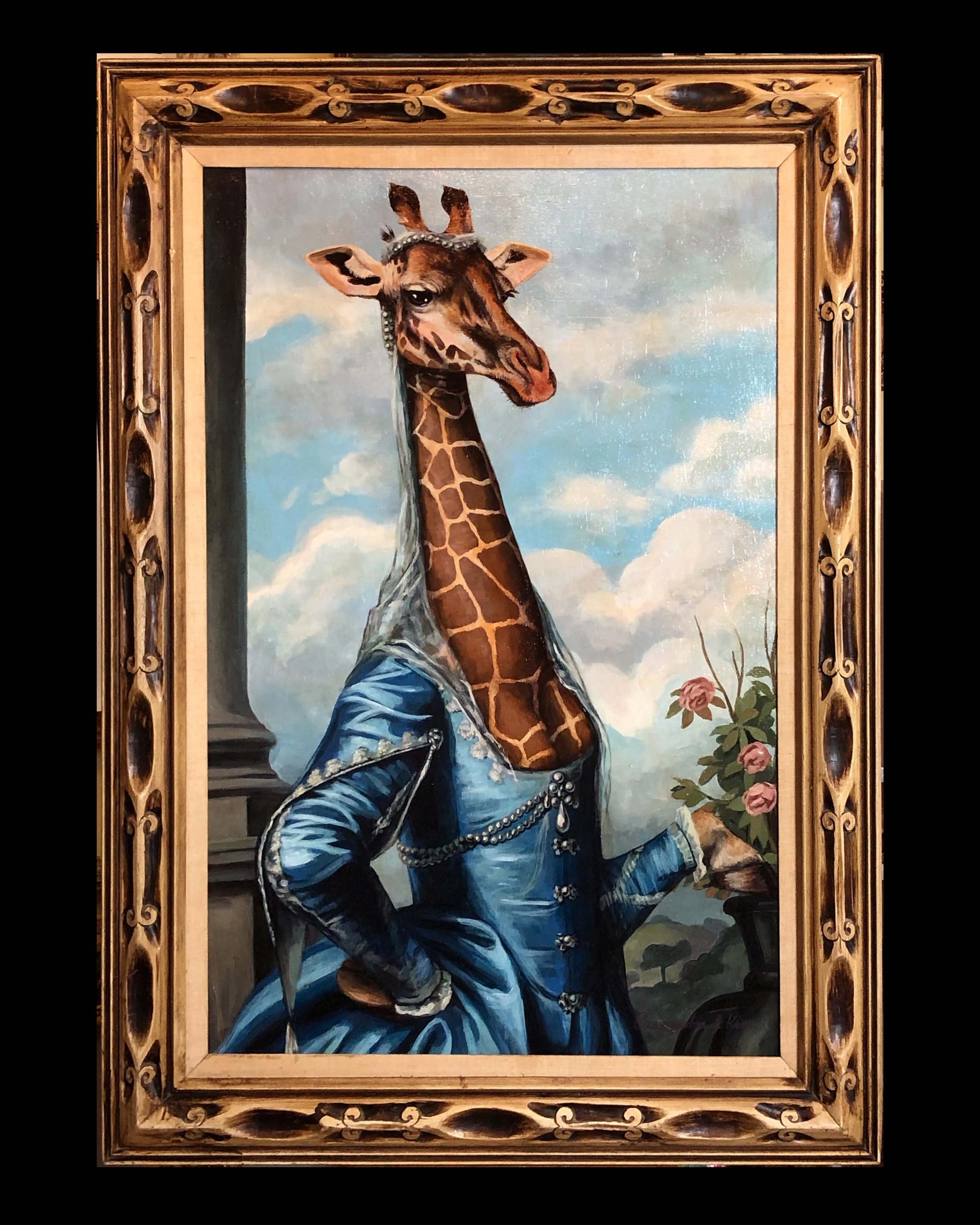 """Miss Elizabeth Giraffe"""