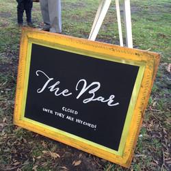 THE BAR SIGN