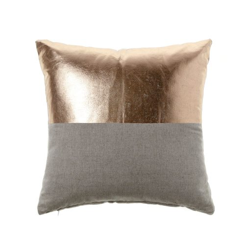 GREY/ROSE GOLD CUSHIONS
