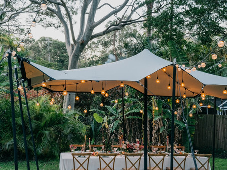 AN INTIMATE WEDDING IN YOUR VERY OWN BACKYARD