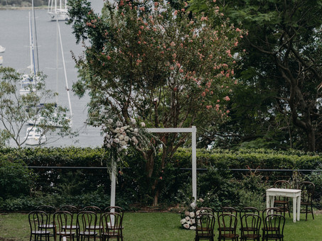 Refined Romance and Statement Chandeliers:  Jenny + Naish