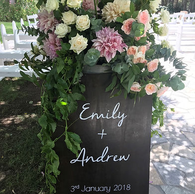 Wedding Signage | Honey Lane