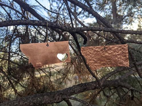 Copper Montana x-mas tree ornaments