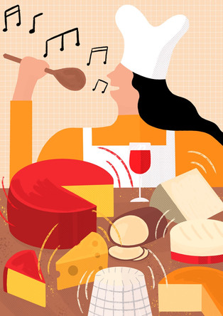 Eminemental: playing hip hop to cheese produces the funkiest flavours