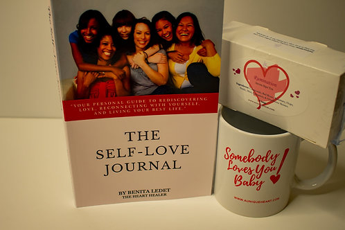 The Self Love Journal w/Tea & Mug