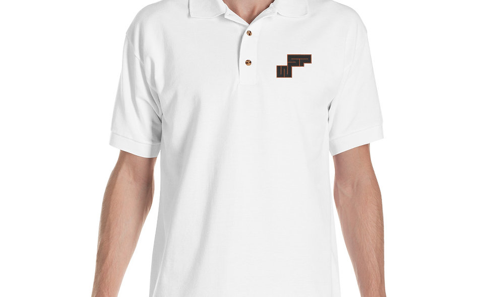 WSP Embroidered Polo Shirt