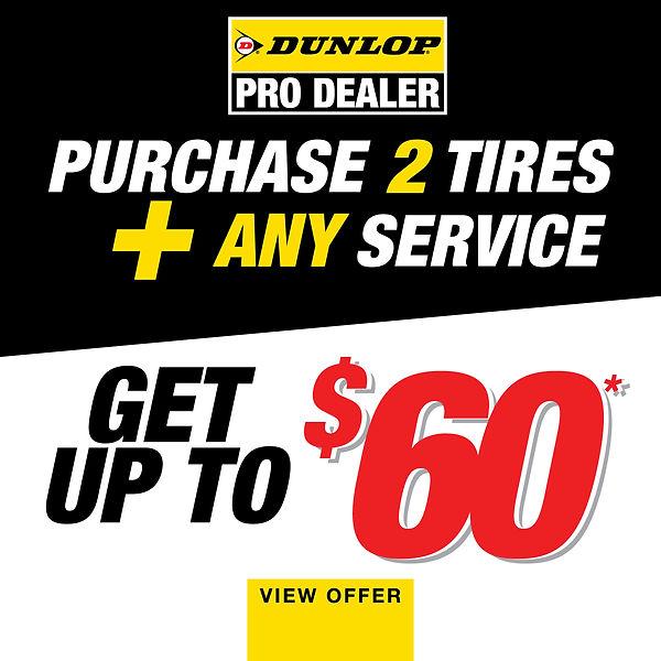 Dunlop Pro Dealer Rebate