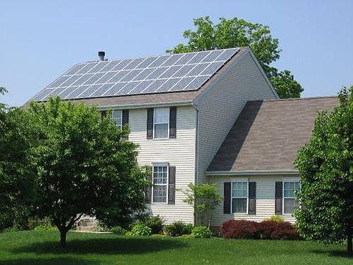 Usina de Geração de Energia Solar ongrid com geração de 1250/1290kw