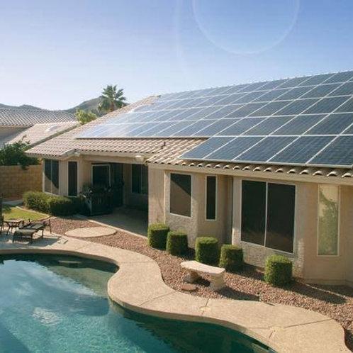 Usina de Geração de Energia Solar ongrid com geração de 1000/1080kw