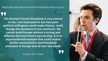 """We cannot build Europe without a strong and effective German-French partnership"""