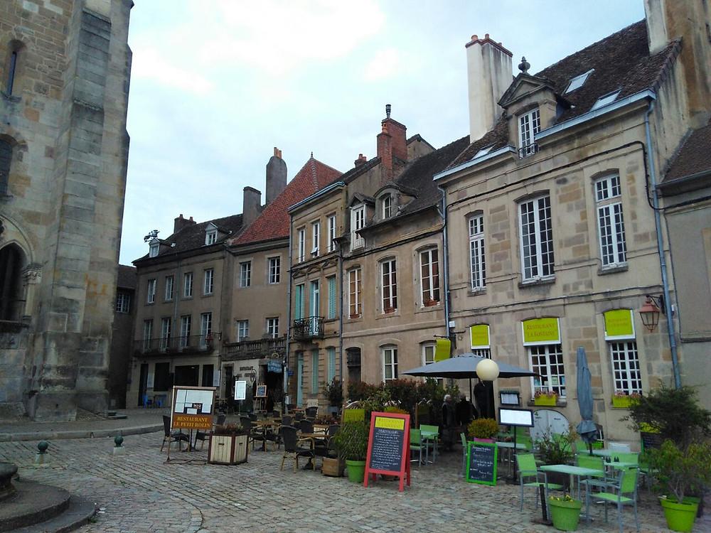 Historic area of City of Autun