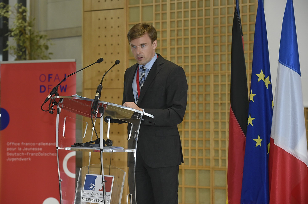 German-French Young leaders co-founder Ilja Skrylnikow