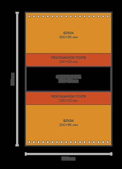 Схема верстки перекидного домика