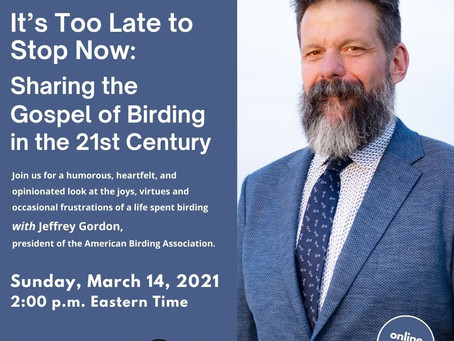 """Sharing the Gospel of Birding in the 21st Century"""