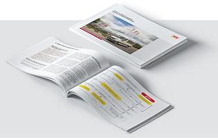 Горизонтальная брошюра А4