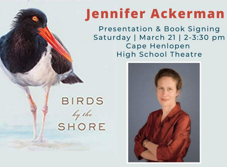 """""""Birds by the Shore"""": Author J. Ackerman rescheduled!"""